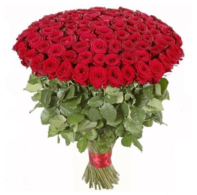 Букет из 101 розы (60см)