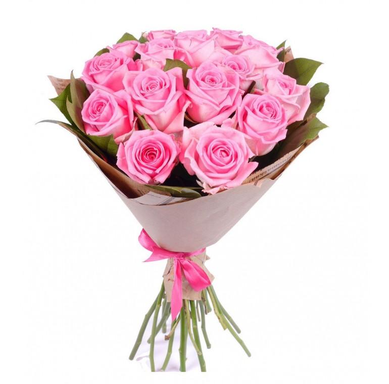 Букет из 15 роз ( 60см)