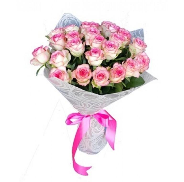 Букет из 25 Роз ( Джумилия 60см.)