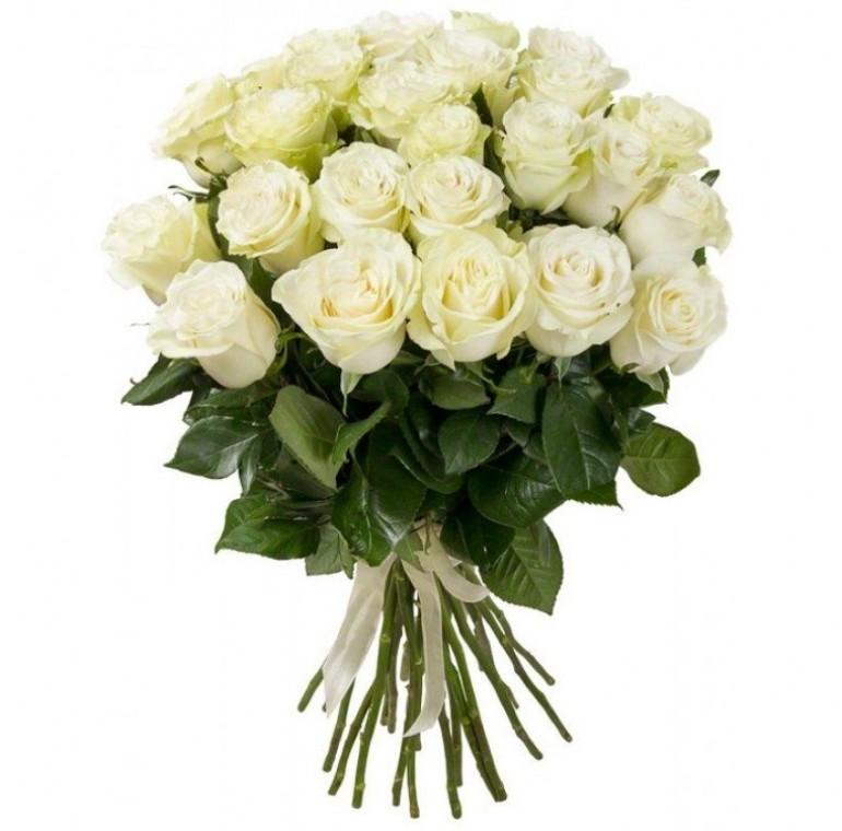 Букет из 21 Розы ( Мондиал 70см)